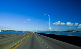 Highway 520 Evergreen Point Royalty Free Stock Photo