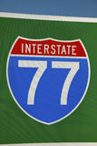 Highway 77 Stock Image