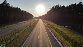 highway Fotografie Stock
