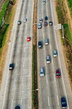 Highway aerial Stock Photography