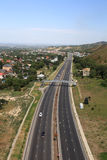 Highway along Almaty Stock Photos