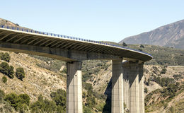Highway of the Alpujarras Stock Photography