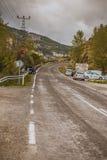 Highway of Ankara city Royalty Free Stock Photos