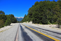 Highway in Argentina Stock Image