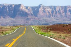 Highway in Arizona Stock Photo