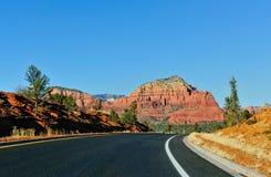 Highway in Arizona  Royalty Free Stock Photos