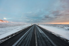 Highway around Iceland Royalty Free Stock Photography
