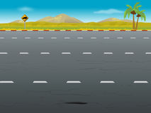 Highway background Royalty Free Stock Photos