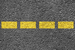 Highway Background. Close-up highway dividing lines Stock Image