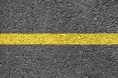 Highway Background. Close-up highway dividing lines Royalty Free Stock Photos