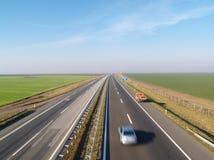 Highway Belgrade-Novi Sad Stock Images