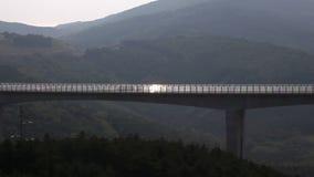Highway - bridge stock video footage