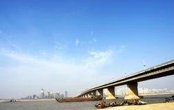 Highway bridge Royalty Free Stock Photos