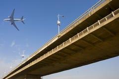 Highway bridge Stock Photo