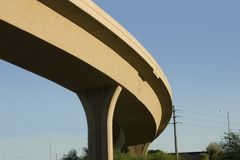 highway bridge Obrazy Royalty Free