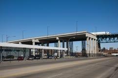Highway Bridge Construction Stock Photo