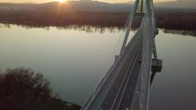 Highway Bridge On A River