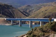 Highway bridge in Spain Stock Image