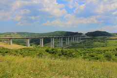 Highway bridge. In Transsylvanien Romania Stock Image