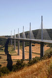 Highway Bridge or Viaduct, Millau, France Royalty Free Stock Photo