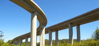 Highway bridges Stock Photography