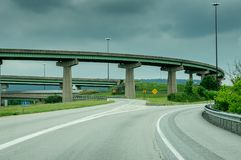 Highway Bridges and Ramps Stock Photos