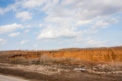 highway budowy nowej Zdjęcie Royalty Free