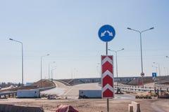 highway budowy nowej Obraz Stock