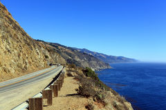 Highway CA-1 Royalty Free Stock Images