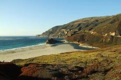 Highway California 1 Pacific Ocean Coast Royalty Free Stock Photography