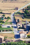 Highway in Catalonia Stock Photography