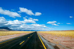 Highway in Chile Stock Image