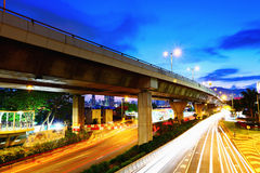 Highway in city Royalty Free Stock Photos