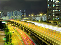 Highway in city Royalty Free Stock Photo