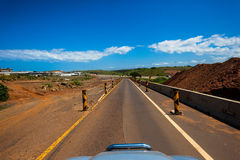Highway Civil Construction  Stock Images