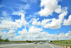 Highway Cloudscape Stock Image