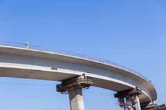 Highway Construction Royalty Free Stock Photography