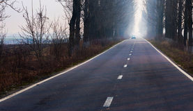 Highway in the countryside Stock Photography