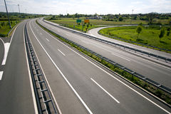 Highway in Croatia Stock Images
