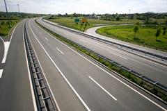 Highway in Croatia Stock Images