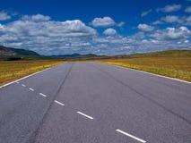 Highway cut (horizontal) Stock Photography