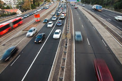 Highway Day Hor Stock Photography