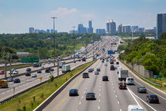 Highway 401 during the day Royalty Free Stock Images
