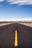 Highway 190 Death & Owens Valley California Nature Royalty Free Stock Images