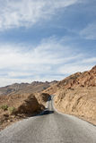 Highway in Death Valley Stock Photos