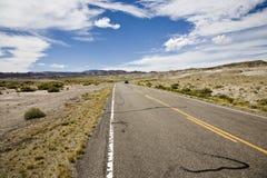 Highway in desert Stock Image