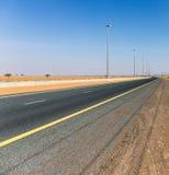 Highway in the desert Stock Image