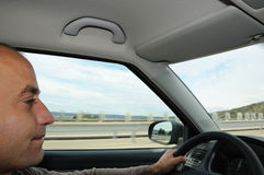 Highway driving Stock Images