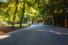 Highway driving Royalty Free Stock Images