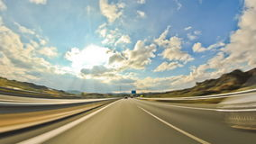 Highway Driving stock video footage